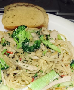 Chicken &Broccoli Aglio Olio