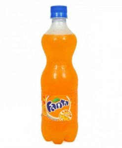 Fanta Pet Botte - 600 ml